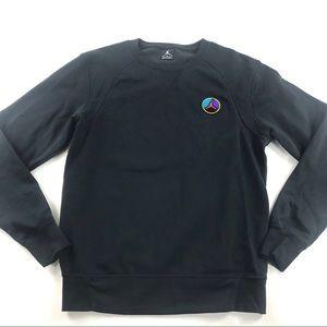 Air Jordan Retro 8 VIII Graphic Sweatshirt Black